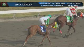 2DA CARRERA 17 09 19 SLIDING LADY