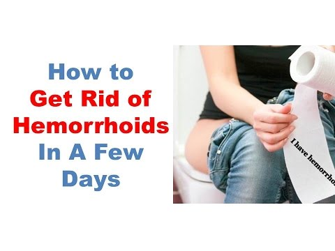 Best Hemorrhoids Treatment, How To Get Rid Of Hemorrhoids Fast, The Piles & Hemorrhoid Cream I Used