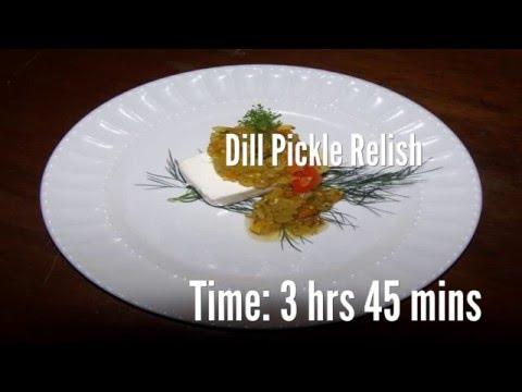 Dill Pickle Relish Recipe