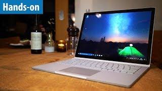 Surface Book 2 - Das Luxus-Arbeitstier im Hands-on / Erster Test