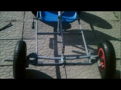 How To Make A Go Kart With A Lawnmower Engine: Part 5