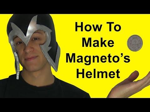 How To Make Magneto's Helmet (DIY)
