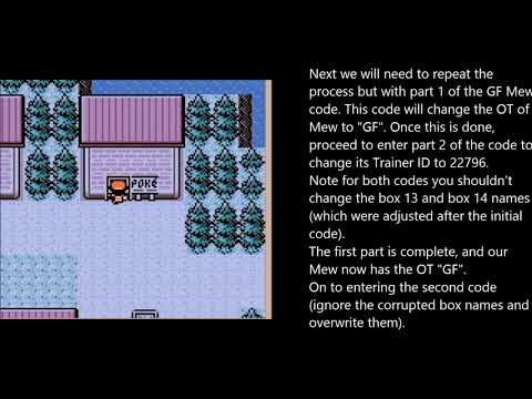 How to get the Pokémon Bank transferable Mew on EN Pokémon Gold/Silver VC (Coin Case glitch)