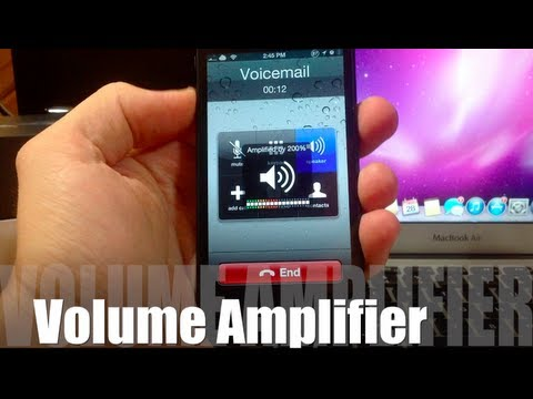 Volume Amplifier - Turn up Phone Call Volume to 200%!