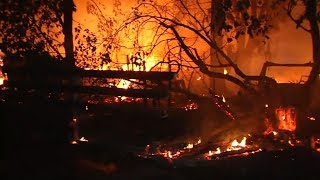 Deadliest wildfire crisis in California