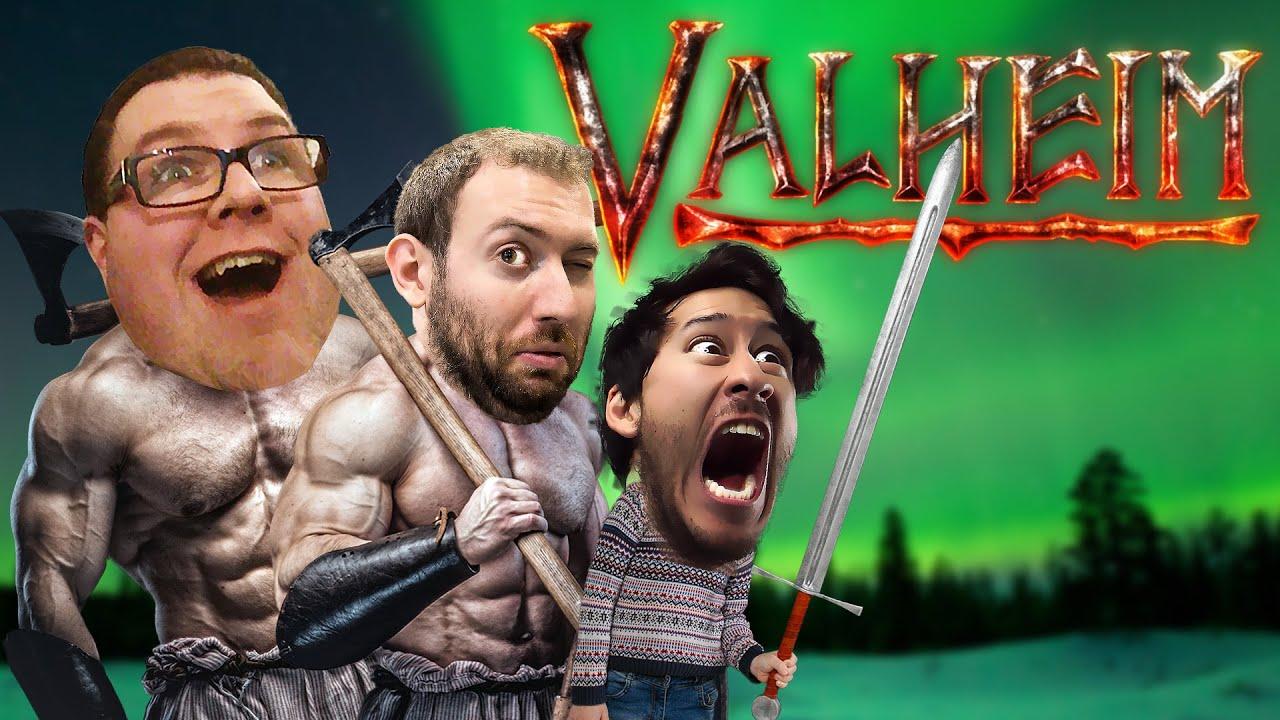 BEING VIKINGS w/ FRIENDS | Valheim