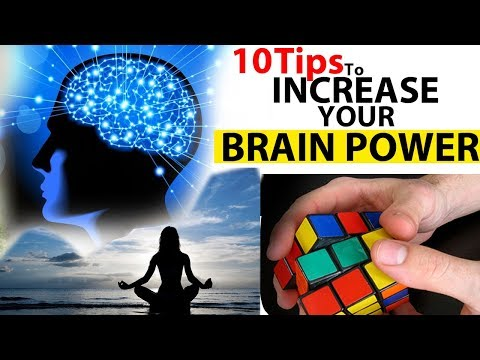HOW TO INCREASE YOUR BRAIN POWER / How  To Sharpen And Improve Memory