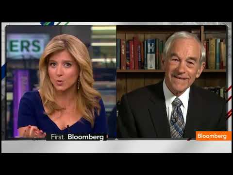 Ron Paul's take on Gold, value, USD and Inflation