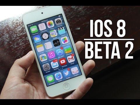 Descargar iOS 8 Beta 2 & Beta 3 via OTA   Para iPhone iPod & iPad