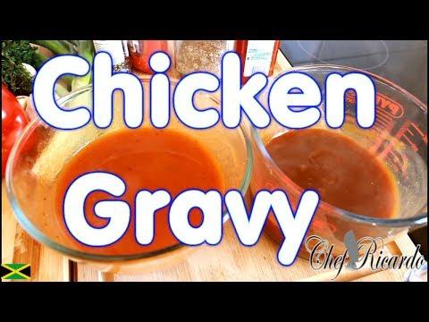 How To Make A Chicken Gravy Simple Recipe | Recipes By Chef Ricardo