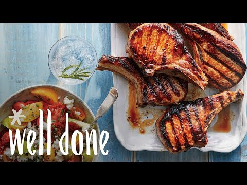 How To Make Grilled Soy-Glazed Porkchops | Recipes | Well Done