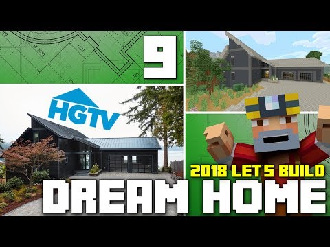 Minecraft Xbox One: Let's Build The HGTV Dream Home 2018! (Part 9)