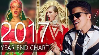 Top 50 Best Songs of 2017 (Year End Chart 2017)