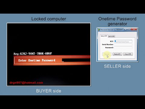 Sony Onetime Password removal, SERVICE demonstration (extended version)