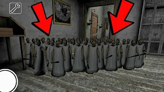 100 SMALL CLONE GRANNY - NEW MOD GRANNY (FULL GAMEPLAY)