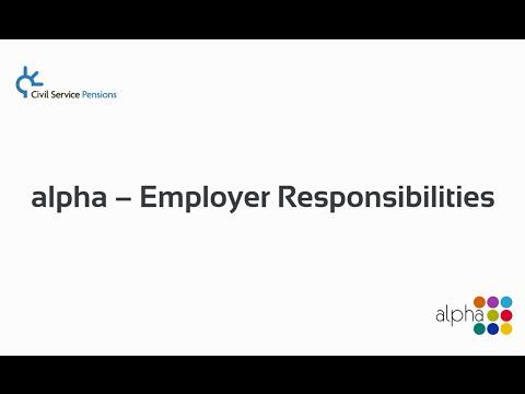 alpha - Employer Responsibilities