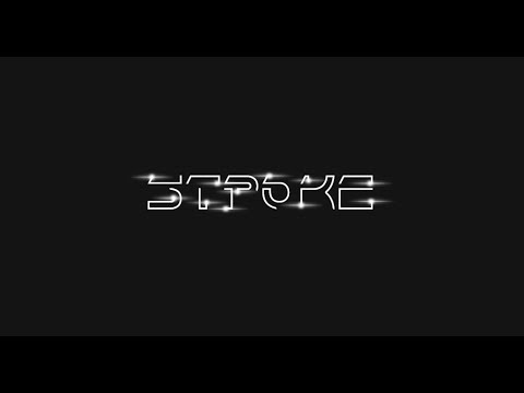 Stroke Text Animation in After Effects - After Effects Tutorial - No Third Party Plugin