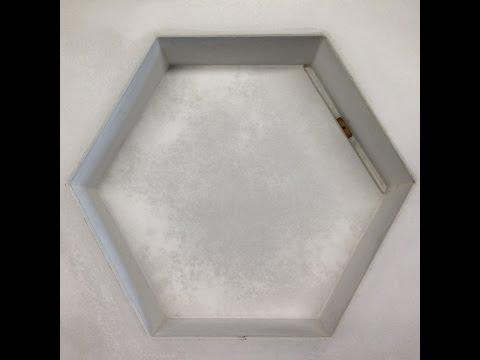 De Molding Concrete Hex Sink