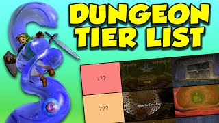 Ranking Ocarina of Time's Dungeons! (2019 Tier List)