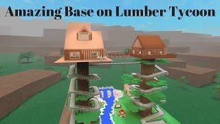 How to make a simple chop saw setup! Roblox Lumber Tycoon 2 [HD]