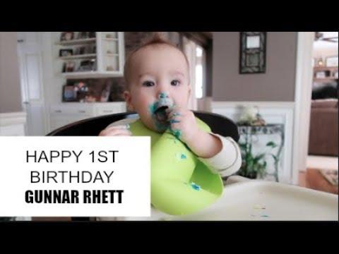 AN EMOTIONAL LETTER TO MY SON ON HIS 1ST BIRTHDAY! I GUNNAR RHETT