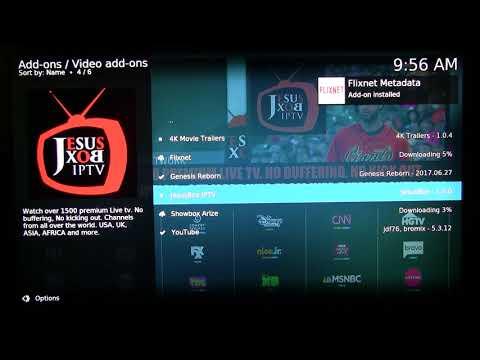 Install Jesus Box Repo for Genesis Reborn, Flixnet, and Showbox Arize Kodi Free Movie/TV Addons
