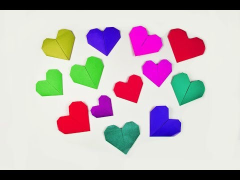 How to make a paper Heart? (for valentine's day)