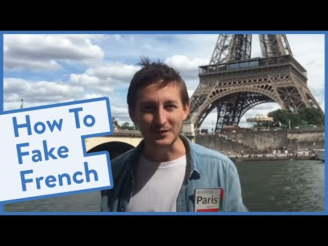 How to Fake French (when you can't speak it)