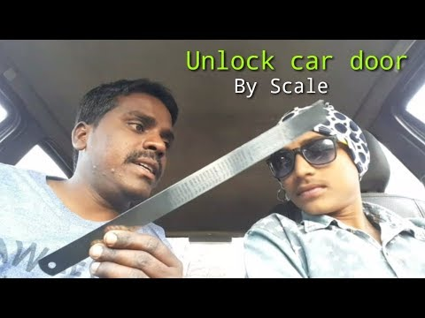 Unlock car door without key || By Scale || Full Review
