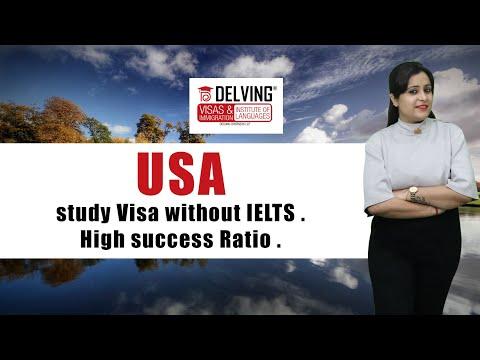 USA study Visa without IELTS . High success Ratio .