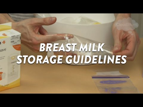 Breast Milk Storage Guidelines | CloudMom