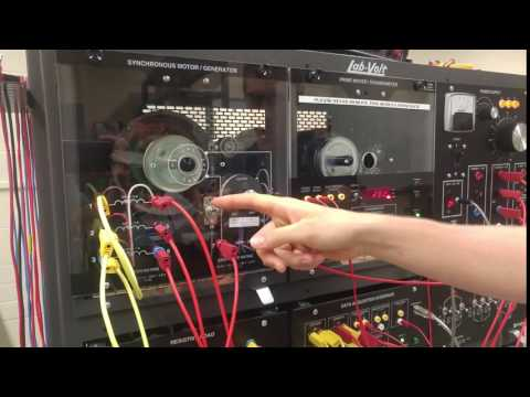 Synchronous Motor - Load Control Demo