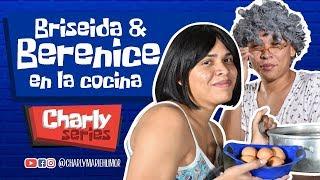 Briseida y Berenice en la cocina
