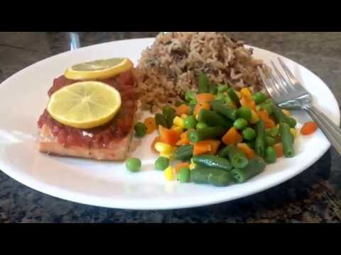 Salmon and Rice - SaturdayProjects™ - FOOD VIDEOS