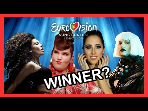 Eurovision 2018 - POSSIBLE 10 WINNERS [With Comments!!]