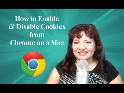 How to Enable and Disable Cookies from Chrome on a Mac