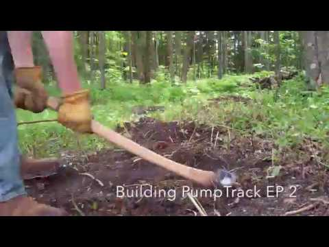 Building A PumpTrack EP 2 Time-Lapse