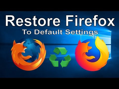 How to Restore Firefox to Its Default Settings and Fix Browser Errors
