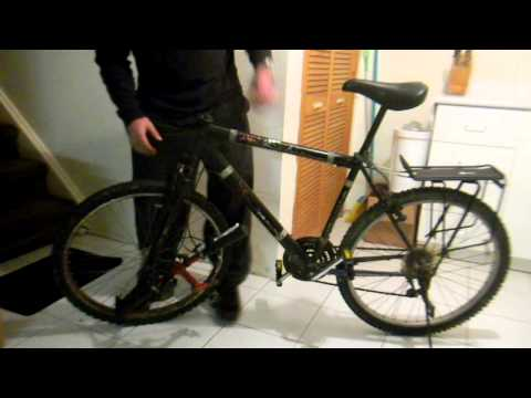 How to Remove and Reinstall a Front Fork on a Bicycle