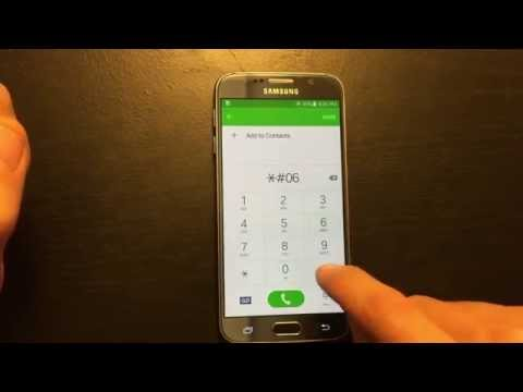 Galaxy S6 / Edge: How to Access IMEI (ESN) Number: 2 Ways to Find!!!!!