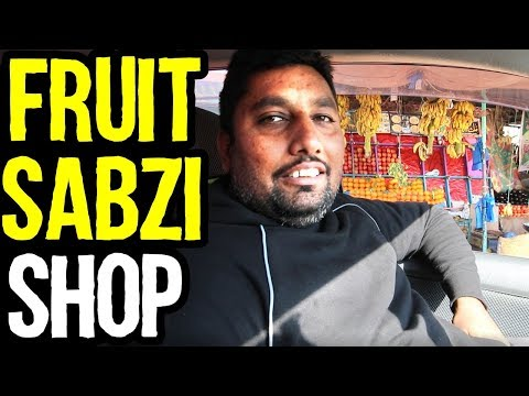 Fruit Shop Business in Pakistan & in India | Azad Chaiwala Show
