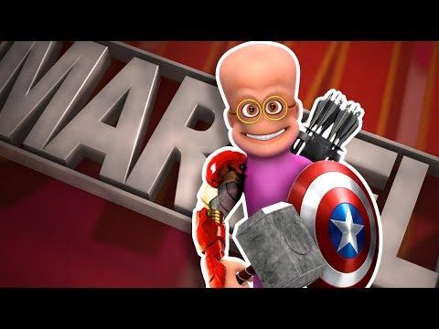 Jeb's Jobs 5 : Marvel Superhero | Funny CGI 3D Animated Short