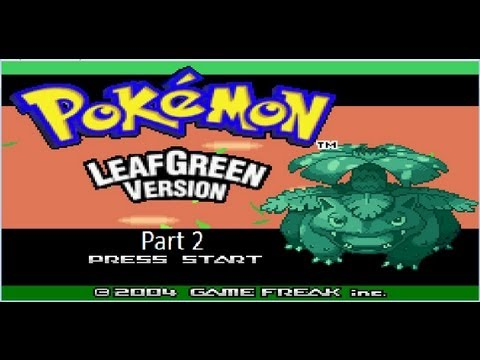 Pokemon LeafGreen LP (Part #2) - Pewter City Gym and onward to Cerulean City!