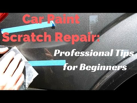 Car Paint Scratch Repair for Beginners: Wet sanding, polishing, and common sense tips for business
