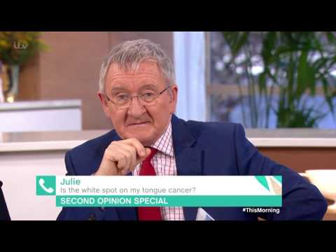 Is the White Spot on My Tongue Cancer? | This Morning