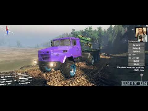 SpinTires -2 in 1 Color change.