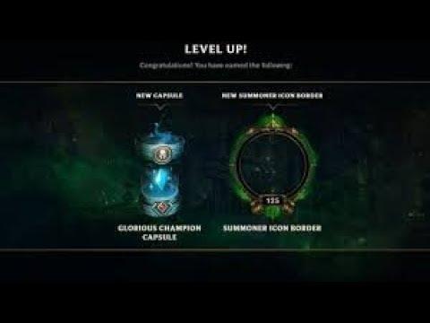 League Of Legends- Level 75, Glorious Capsule Loot FREE WARD SKIN