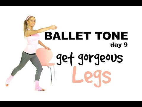 WORKOUT FOR WOMEN - GET GORGEOUS LEGS - HOME WORKOUT USING YOUR OWN BODY WEIGHT