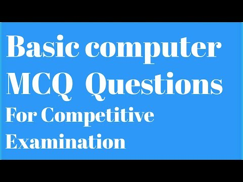 Basic Computer MCQ question .