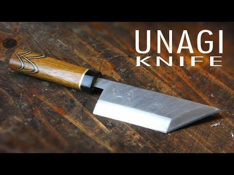 Making a Japanese Inspired Unagi Knife